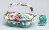 """Шкатулка для рукоделия """"Весна в Париже Riot of Colors Cart"""", 14.8x12x9.2см"""