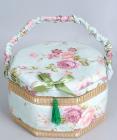 """Шкатулка для рукоділля """"Весна в Парижі Delicate Rose Hexagon"""", 23.5x23.5x14см"""