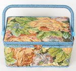 "Шкатулка для рукоделия ""Мастерица Tapestry Pastorale-2"" 29x17.5x17см"
