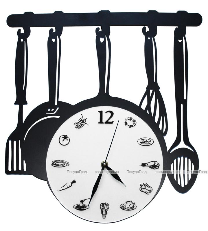 """Часы настенные Bona Clock """"Кухонна вішалка"""""""