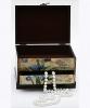 """Шкатулка с ящиком """"Адель Ирис"""" (глянец), 23.7x17x15.3см"""