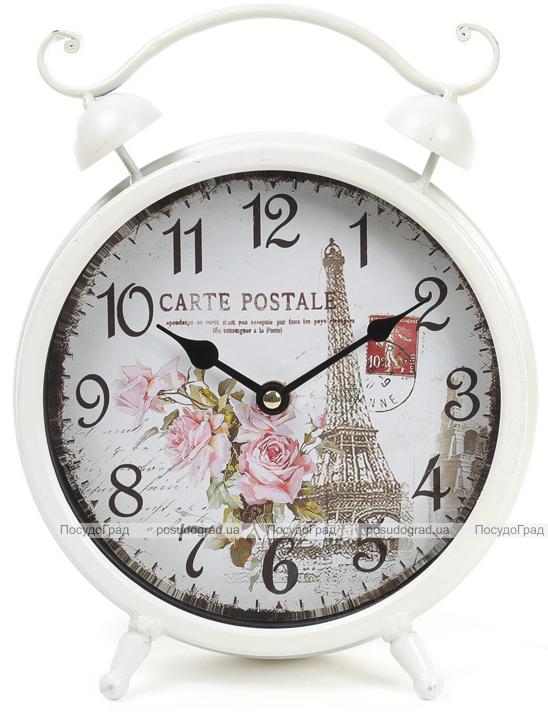 """Годинник настільний ретро """"Carte Postale"""" 21х28см"""