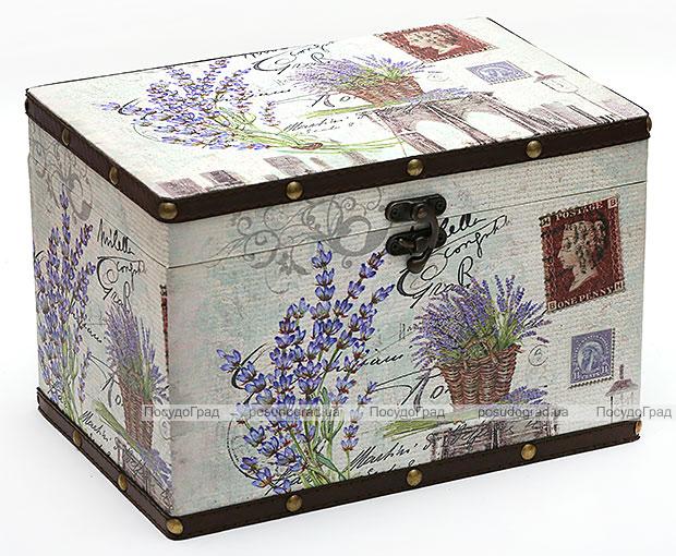 "Деревянная шкатулка ""Стефани Provans"", 30x20x20см"