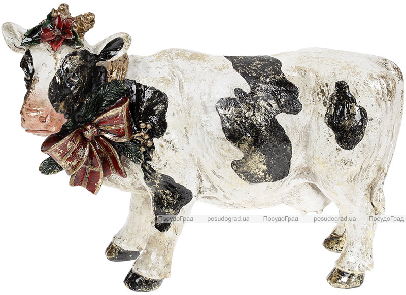 Статуэтка декоративная «Коровка с Бантом» 26.5х11х20см