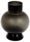 Ваза Ariadne «Сфера» 22см, чорне скло