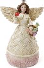 """Статуетка декоративна """"Ангел з яблуком"""" 14х10.5х20см"""
