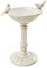 Декоративная чаша-конфетница Tabitha 25х20.5х32см, слоновая кость