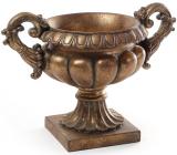 Кашпо декоративное Tabitha 36.8х22х25.7см, бронза