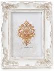 """Фоторамка Tudor """"Розы"""" для фото 12.5х17.5см (белый с золотом)"""