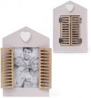 """Фоторамка Babyroom """"Вікно з віконницями"""" для фото 10х15см, дерев'яна"""