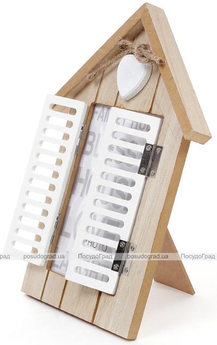 """Фоторамка Babyroom """"Окно со ставнями"""" фото 10х15см, деревянная"""