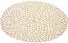 Набір 6 сервірувальних килимків Margrese Golden Openwork Ø38см (підтарільники)