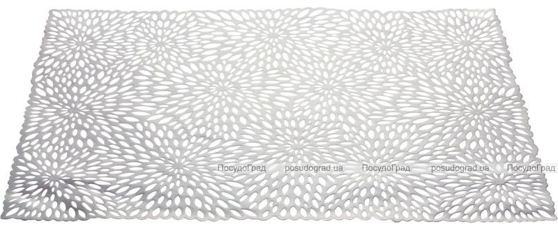 Набор 6 сервировочных ковриков Margrese Silver Astra33х48см (подтарельники)