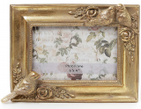 """Фоторамка Tudor """"Птицы"""" для фото 10х15см (цвета состаренного золота)"""