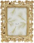 """Фоторамка """"Золотые кораллы"""" для фото 13х18см, состаренное золото"""