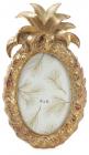 Фоторамка Tudor Ананас овальная, фото 10х15см (цвета состаренного золота)