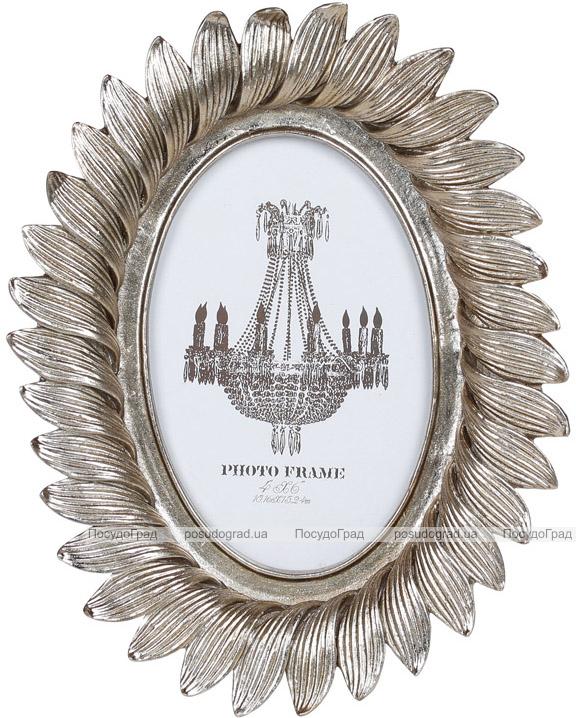 """Фоторамка """"Пелюстки"""" для фото 10х15см, зістарене срібло"""