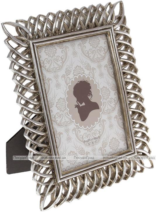 "Фоторамка Animos ""Ажур"" для фото 13х18см, состаренное серебро"