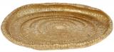 "Декоративне блюдо ""Africa"" 24.7х23.5х4.2см полістоун, золото"