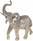 """Декоративная статуэтка """"Слон"""" 24.5х28см, стальной"""