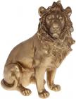 """Декоративна статуетка """"Цар Звірів"""" 29.5х14.3х33.2см, полістоун, золото"""