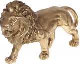 """Декоративная статуэтка """"Царь Зверей"""" 42.8х12.8х25см, полистоун, золото"""