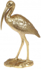 """Декоративна фігура """"Ібіс"""" 24х9.5х40.1см полістоун, золото"""