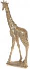 """Декоративна фігура """"Жираф"""" 23.5х10.2х47.5см полістоун, золото"""