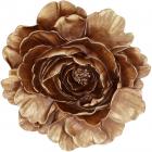 """Підвісний декор """"Giorgi Квітка"""" 20х4х19.5см, полистоун, колір золотий"""