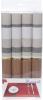 Набор 4 сервировочных коврика Wangelis Chocolate Blues 30х45см, полиэстер