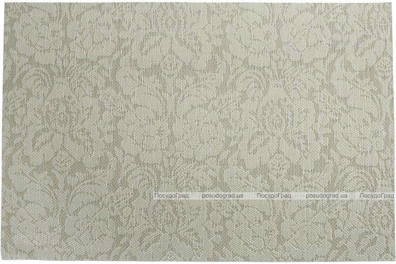Набір 6 сервірувальних килимків Wangelis Mint Flowers 30х45см, поліестер