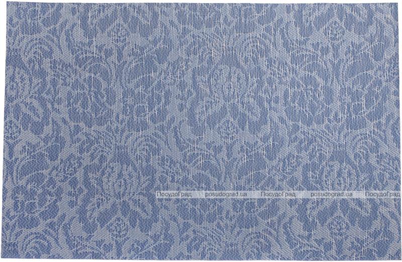 Набір 6 сервірувальних килимка Wangelis Blue Flowers 30х45см, поліестер