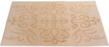 Набор 6 сервировочных ковриков Wangelis Cream Ornament 30х45см, полиэстер