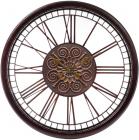 Часы настенные Winchester Ø51см, состаренная бронза