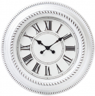 Годинник настінний Winchester Ø51см, зістарений білий