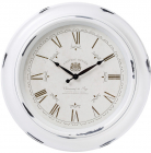 Годинник настінний Winchester Ø46см, зістарений білий