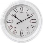 Часы настенные Winchester Ø51см, белые
