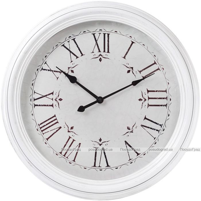 Годинник настінний Winchester Ø51см, білий