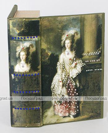 """Деревянная шкатулка """"Живопись Портрет миссис Мэри Грэхем"""" Мини, 17x11x5см"""
