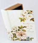 "Деревянная шкатулка ""Стефани Book with Jasmine"", 23x17x5см"
