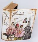 "Деревянная шкатулка ""Стефани Book Greetings from France"", 23x17x5см"