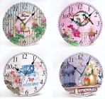 """Часы настенные круглые """"Прованс. Декор"""" 20см"""