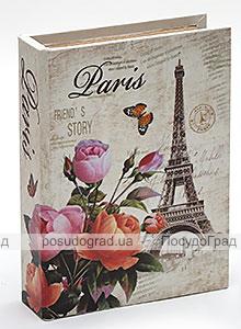 "Деревянная шкатулка ""Стефани City of Paris"", 23x17,5x5см"