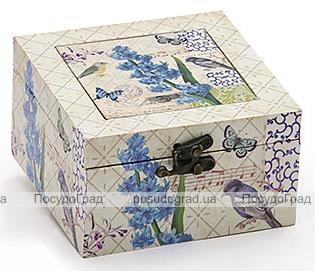 "Деревянная шкатулка ""Стефани Birdsong Hyacinth"", 14x14x8см"