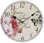 """Часы настенные """"Love is"""" Ø29см"""