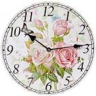 "Часы настенные ""Букет роз"" Ø29см"