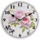 """Годинник настінний """"Ufficio Postale Rose"""" Ø29см"""
