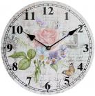 "Часы настенные ""Ufficio Postale. Роза"" Ø29см"