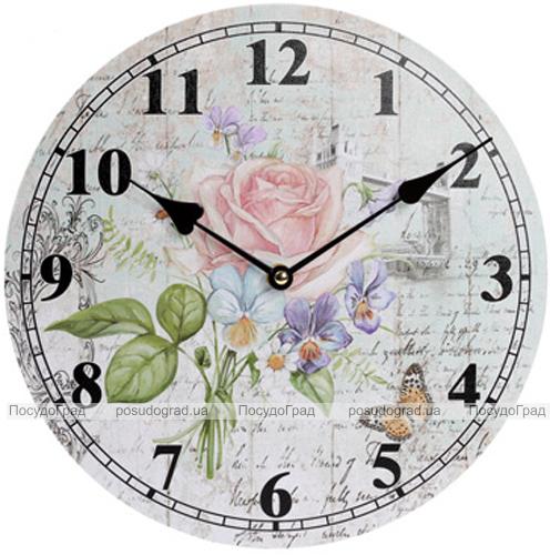 """Годинник настінний """"Ufficio Postale. Роза"""" Ø29см"""