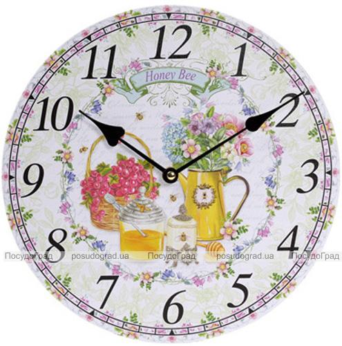 """Годинник настінний """"Honey Bee"""" Ø29см"""